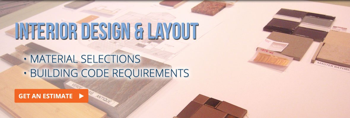 interior design and layout built according to building code requirements