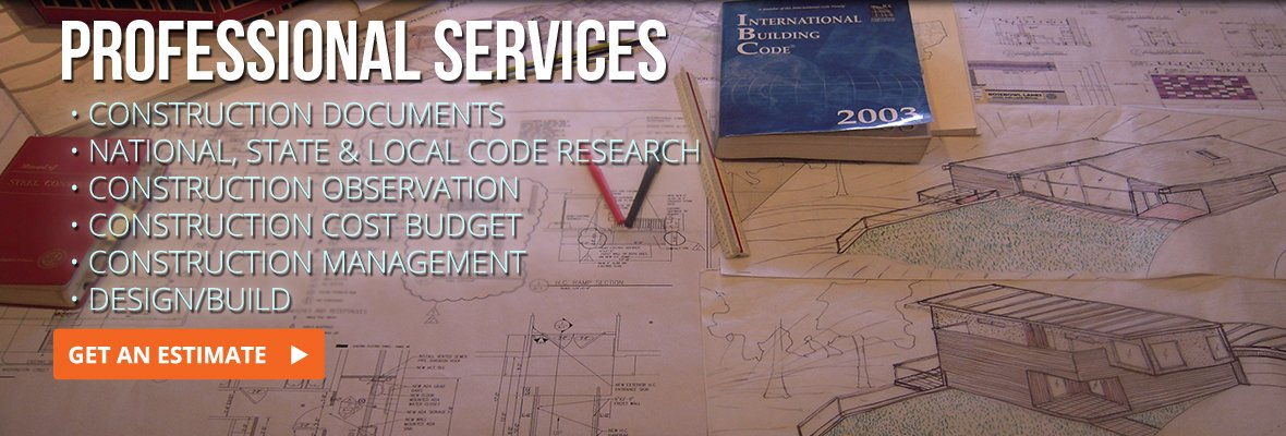 professional architecture and construction services