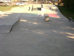 custom skatepark architectural design after construction
