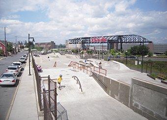 skate park designed in bethlehem